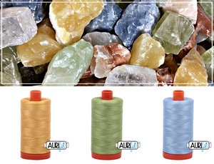 Aurifil Thread Gem Pack - December/Multi Calcite
