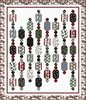 Cardinal Carols - Winter Garland Free Quilt Pattern