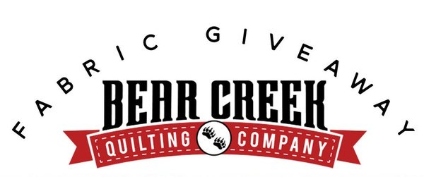 Bear Creek Quilting Company Give-Away