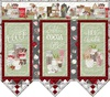 Hot Cocoa Bar Wall Hanging Free Quilt Pattern