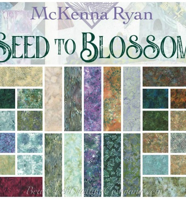 Seed to Blossom by Hoffman Fabrics