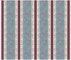 Maywood Studio Flower and Vine Border Stripe Blue