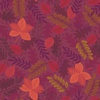 Lewis and Irene Fabrics Under the Oak Tree Leaves Plum
