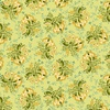 Henry Glass Fabrics Tarrytown Stripey Bouquet Linden Green