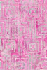Maywood Studio Bejeweled Batiks Stitched Squares Pink/Teal