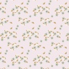 Camelot Fabrics Berry Blossoms Small Blossoms Light Pink