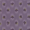 Moda Sweet Violet Gingham and Floral Violet