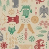 Lewis and Irene Fabrics Viking Adventure Oat