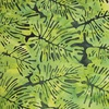 Northcott Banyan Batiks Boho Beach Leaves Dark Green/Lime