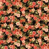 Robert Kaufman Fabrics Imperial Small Floral Black