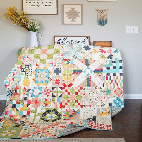Sherry McConnell's Moda Blockheads II Quilt
