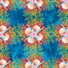 In The Beginning Fabrics Calypso Kaleidoscope Blue
