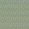 Andover Fabrics Bed of Roses Lazy Day Dusty Teal