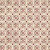 Henry Glass Tickled Pink Tile Flowers Cream