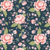 Riley Blake Designs Charmed Large Floral Midnight