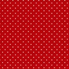 Henry Glass Sewing Mends the Soul Small Dots Red
