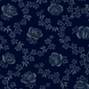 Windham Fabrics Abigail Blue Trellis Rose Blue