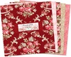 Rhapsody In Reds 10 Inch Squares by Wilmington Prints