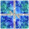 "Coastal Getaway Batiks 10"" Squares by Maywood Studio"