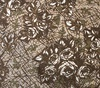 Northcott Banyan Batiks Rough Sketch Roses Coffee