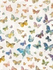 Wilmington Prints Butterfly Haven Butterflies Gray