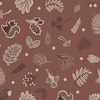 Lewis and Irene Fabrics Under the Oak Tree Woodland Mid Brown
