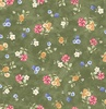Quilting Treasures Garden Grandeur Small Floral Toss Green