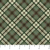 Northcott Outdoor Adventures Flannel Diagonal Plaid Fern