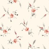 Windham Fabrics Annie Wheat Flower Linen White