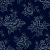 Windham Fabrics Abigail Blue Large Flower Blue