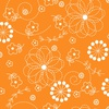 Maywood Studio Kimberbell Basics Doodles Orange