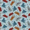 Benartex Colorful Cats Sky