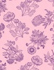 Wilmington Prints Flower Show Toile Pink