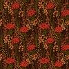 In The Beginning Fabrics Garden Delights III Prairie Flowers Red
