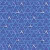 Windham Fabrics Good Vibes Only Triangles Periwinkle