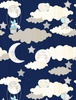 Wilmington Prints All Our Stars Scenic Navy