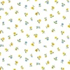Andover Fabrics Bloom Floral Scatter Blue