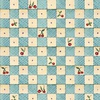 Quilting Treasures Bless This House Cherry Check Blue