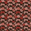 In The Beginning Fabrics Garden Delights III Bouquet Red
