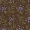 Moda Sweet Violet Violets and Ferns Earth