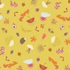 Lewis and Irene Fabrics Whatever the Weather (Autumn) Yellow
