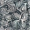 Anthology Fabrics Mary Inman Batik Spotted Leaf Charcoal