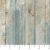 Northcott Outdoor Adventures Flannel Distressed Wood Wedgewood