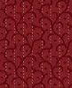 Maywood Studio Heritage Woolies Flannel Stitched Scroll Red
