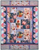 Elderberry Flower Fairies Collage Free Quilt Pattern