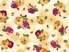 Quilting Treasures Danielle Spaced Floral Yellow