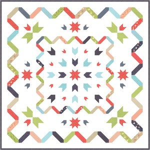 Starstruck Quilt-Along by Happy Quilting