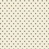 Windham Fabrics Abigail Blue Circle Dot Cream