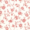 Moda Porcelain Heirloom Floral Porcelain/Rose