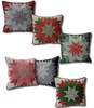 Twelve Days of Christmas Star Cushion Free Pattern
